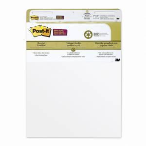 Post-it flipover blok 559 blank genbrugspapir 63,5x77,5cm -  30 ark