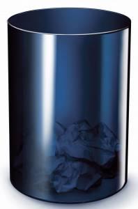 Papirkurv Office Depot 18L H:33,7cm plast - midnight blue