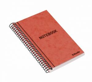 Notesbog Esselte, 140 x 90 mm, 50 ark, linieret