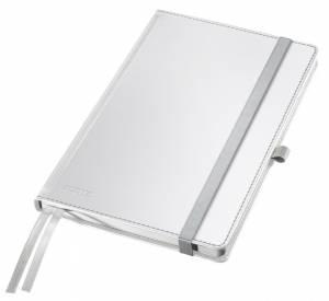 Notesbog Leitz Style A5 Hardcover linjeret 80 ark - HVID