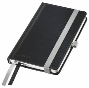 Notesbog Leitz Style A6 Hardcover linjeret 80 ark - SORT