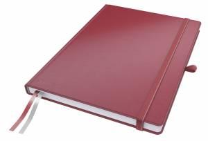 Notesbog Leitz Complete A4 linjeret 96 g 80 ark - RØD
