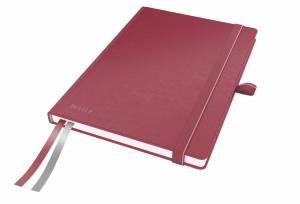 Notesbog Leitz Complete A5 linjeret 96 g 80 ark - RØD
