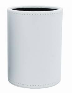Penneholder hvid kunstskind 80x120mm