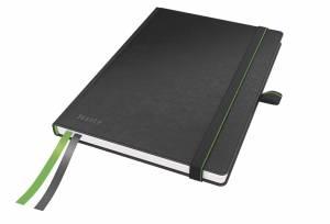 Notesbog Leitz Complete A5 linjeret 96 g 80 ark - SORT