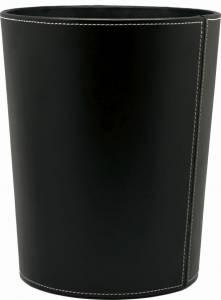 Papirkurv sort kunstskind 225x270mm