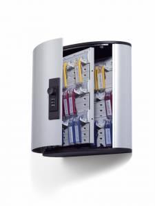 Nøgleskab Durable Keybox 36 alu til 36 nøgler, m/ kodelås