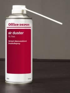 Sprayduster Office DEPOT trykluft brændbar 400ml/ds