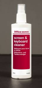 Rensespray Office DEPOT til skærm & tastatur 250ml 975448