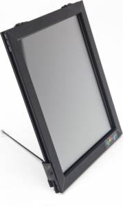 Lysskilt A4 LED t/bord 260x220mm m/stå stand