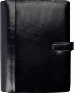 Mayland System A5 2019 Ugekalender højformat sort skind