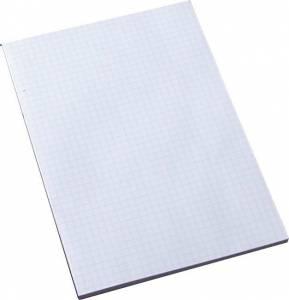 Standardblok u/huller kvadr. toplimet 60g hvid A5