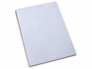 Standardblok u/huller kvadr. 60g hvid A4