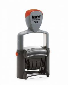 Datostempel TRODAT 5430 38x23mm m/voucher Professional 4.0