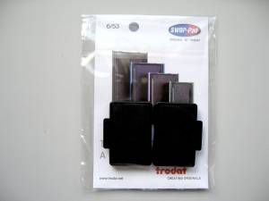 Stempelpude Trodat sort 2-pack 5204,5206,4206,4460 m.fl 6/56