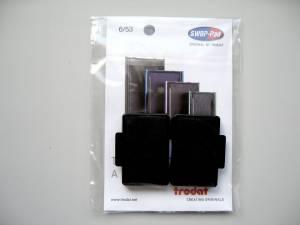 Stempelpude Trodat sort 2-pack 5203/5440/5253 m.fl 6/53