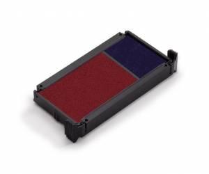 Stempelpuder Printy 4912 2-farvet blå/rød 2-pack