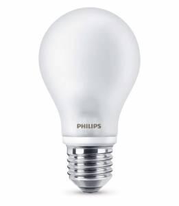 Philips LED Pære (Dæmpbar) 8W (60W) E27, 110x60mm Varm hvid
