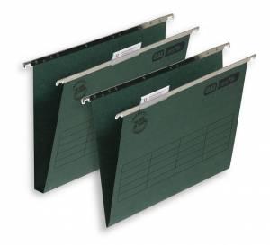 Hængemapper Elba Vertic grøn A4/30mm