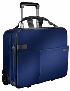 "Leitz Smart Traveller computertaske m/ hjul 15,6"" - Blå"