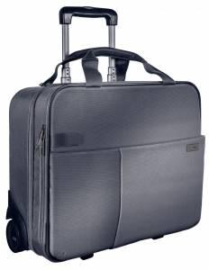 "Leitz Smart Traveller computertaske m/ hjul 15,6"" - Grå"
