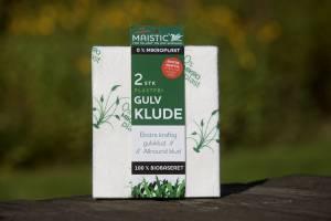 Maistic Gulvklud mikroplastfri 32x38cm -  2stk/pak