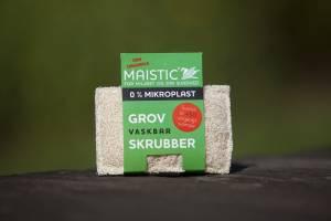 Maistic GROV SKRUBBER Skuresvamp plastfri 11x7cm