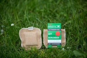 Maistic LET SKRUBBER svampeklud let ridsefri plastfri 11x11cm