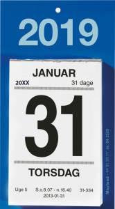 Mayland Afrivningskalender 2019 m/bagsidetekst 6x10cm