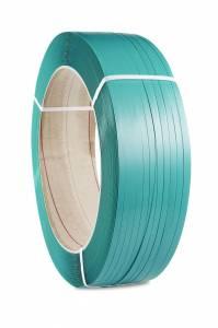 Strapbånd PET 15,5 x 0,90mm x 1500M (Ø:406) - Grøn