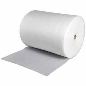 Foam, Skumfolie i rulle á 0,8mm x 100cm x 500 mtr - Transparent