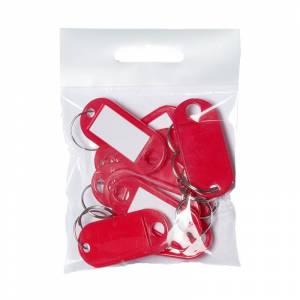 Nøgleskilte BNT plast PET rød