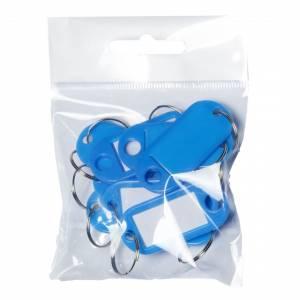Nøgleskilte BNT plast PET blå
