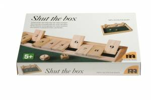 Shut the box/ølspillet 28x20x4cm