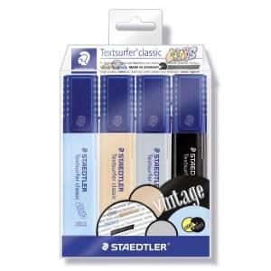 Highlighter Staedtler Textsurfer® classic 364 VINTAGE - 4 stk/pk