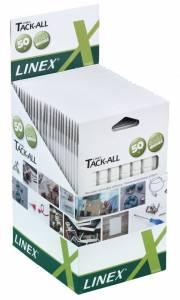 Klæbegummi Linex Tack-All i små firkanter 50g