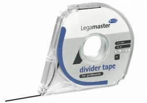 Inddelingstape Legamaster sort 2,5mmx16m 7-4332