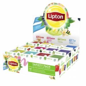Te Lipton assorteret 15breve/rum 12rum/pak
