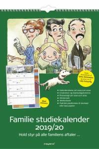 Familiekalender 2019/20 30x42cm m/stickers 8079 00