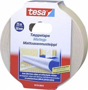 Tæppetape tesa 55735 aftagelig 48mmx25m