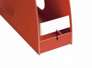Label klar til Office Depot tidskriftssamler 10stk/pk