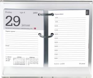 Mayland Blokkalender 2022 m/huller 8x12cm REFILL - ekskl. stativ