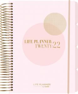 Mayland Life planner kalender pink, 1 dag  2261 10