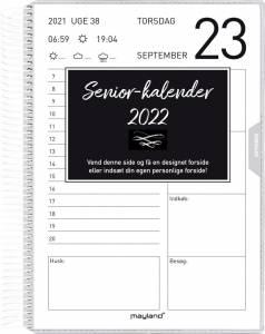 Mayland Senior-kalender 2022 m/spiral