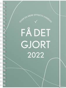 Mayland A5 Ugekalender 2022 FÅ DET GJORT 15x21cm tværformat