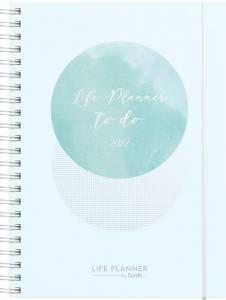 Mayland Life planner A5 ugekalender blå 22 2275 00