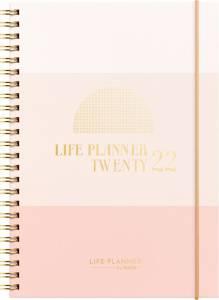Mayland Life planner kalender pink tværformat 2277 00