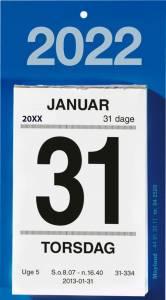 Mayland Afrivningskalender 2022 m/bagsidetekst 6x10cm
