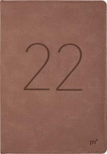 Mayland City Diplomat 2022 ugekalender 17x24,5cm Trend blå