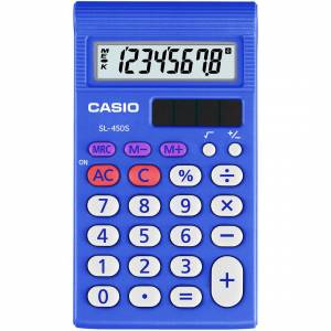 Lommeregner Casio SL-450 hardbox 8 cifre